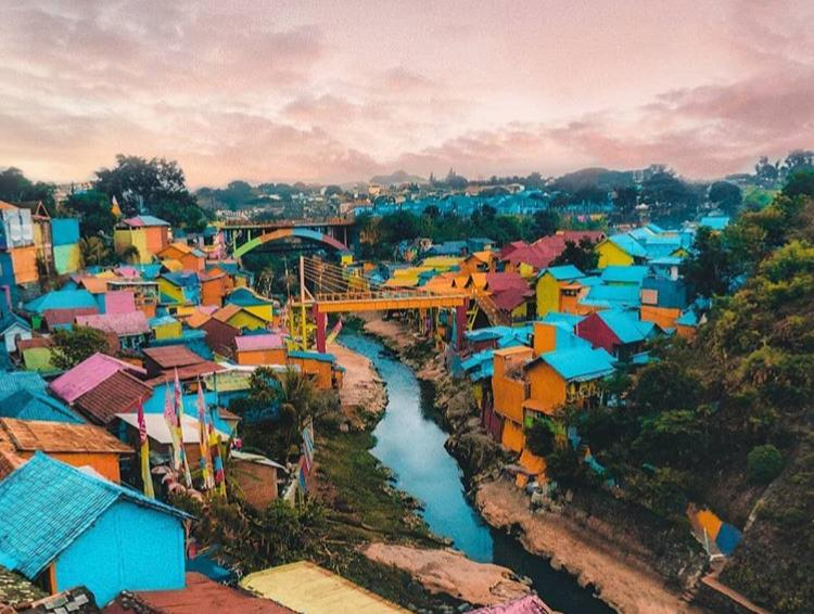 Liburan di Malang, Wajib Mampir Kampung Jodipan
