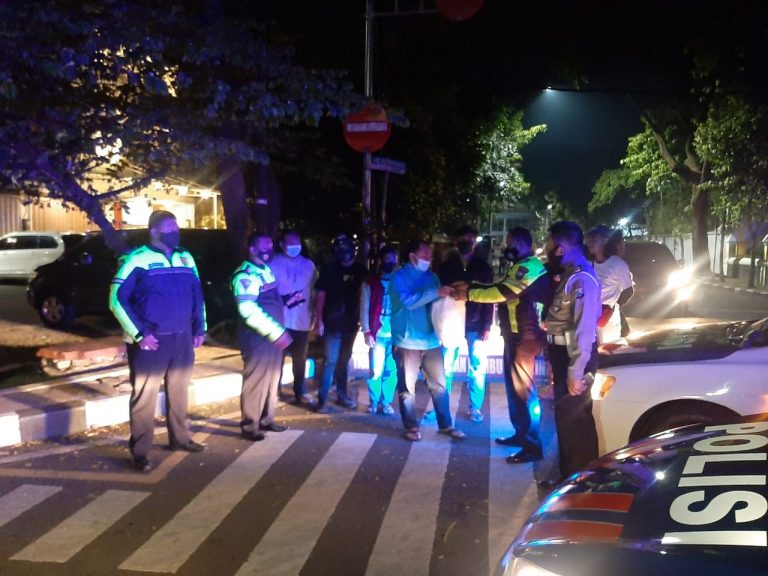 Polresta Malang Kota Amankan 7 Kendaraan Tidak Laik Pakai Sebelum Lakukan Balap Liar